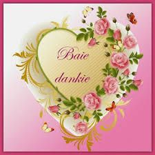 Image result for baie dankie