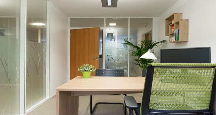 Individual office into the premises of Merisant in Paris, France