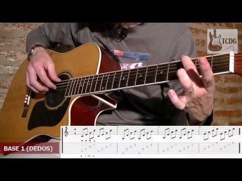 CURSO DE GUITARRA ACÚSTICA INICIAL / LECCIÓN 18: ACORDES ARPEGIADOS (PARTE 1) / TUTORIAL TCDG - YouTube