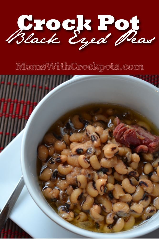 This is perfect for new years. Try this simple and Amazing Crock pot Black Eyed Peas Recipe