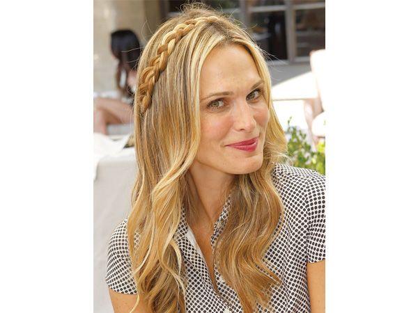 Corona de trenza para el peinado de novia con el cabello - Peinados d moda ...