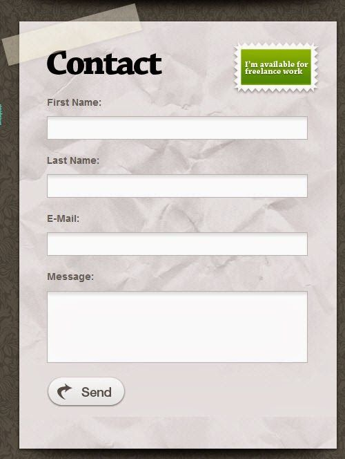 Cara Membuat Contact Form / Formulir di Blog at http://farespo.blogspot.com/2014/01/cara-membuat-contact-form-formulir-di.html