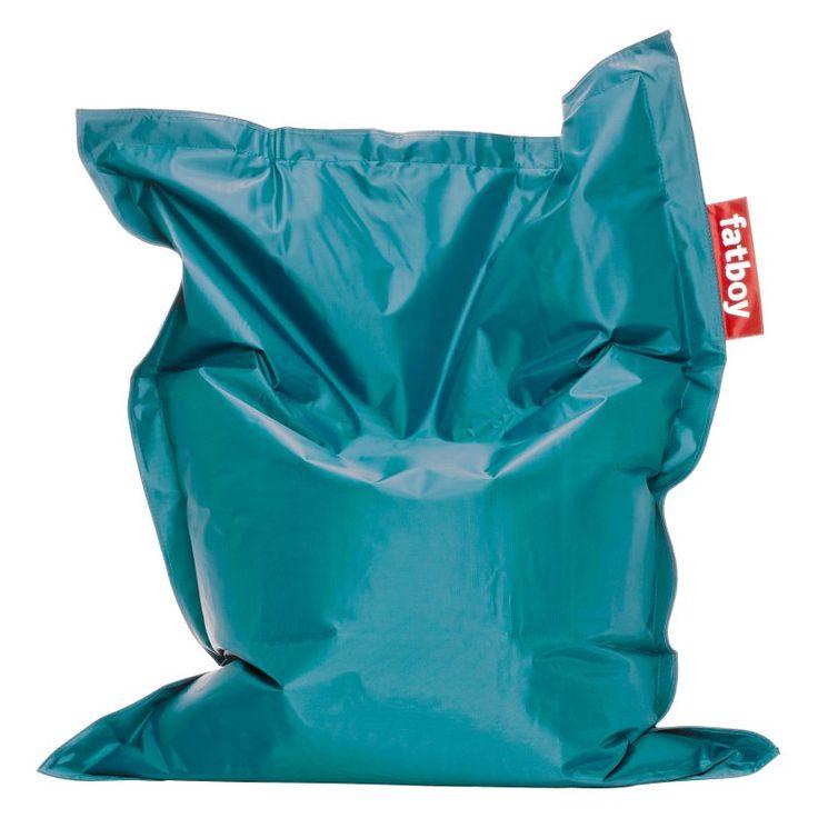 Fatboy, 4-Foot  Junior Large Bean Bag Chair Turquoise - JUN-TQS
