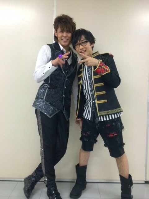 UtaPri ~~ Mamoru Miyano and Takuma Terashima (宮野真守、寺島拓篤) / Uta no prince sama live 3rd stage