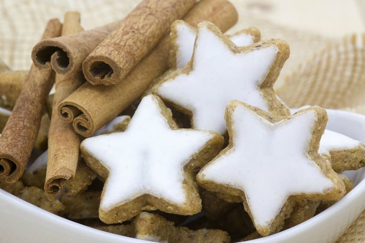 If you're anything like me, you grew up associating the holiday season with the smell of fresh baked cookies. And one of my faves were always Cinnamon Star.