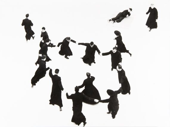 """Mario Giacomelli: from the series """"Io non ho mani che mi accarezzino il volto"""", Italy, Senigallia, 1961-1963"""