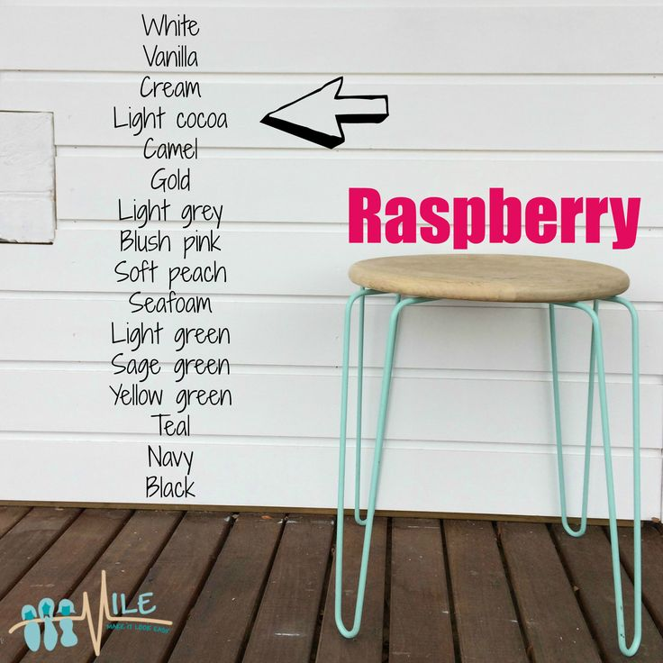 Raspberry goes with...