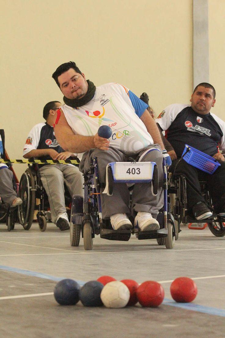 Campeões paralímpicos disputam Campeonato Brasileiro de Bocha no Paraná ~ Portal PcD On-Line