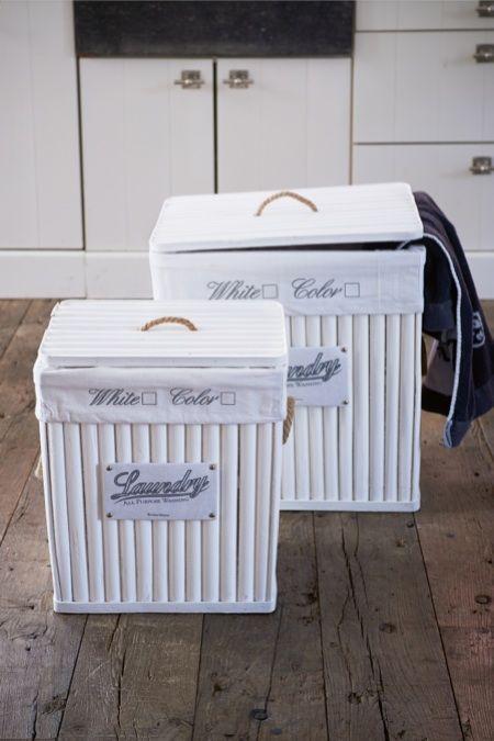 Rivièra Maison Official Online Store ® - Accessoires | Opbergartikelen | Wasmanden | USA Laundry Basket S/2