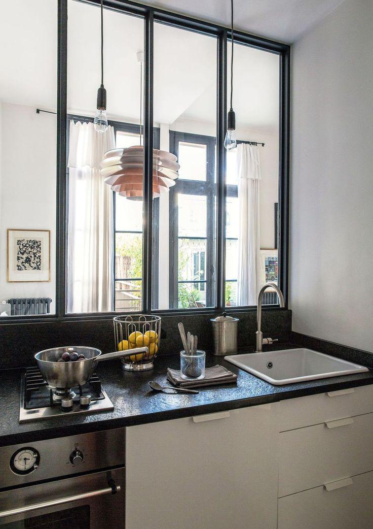appartement paris 10 avec terrasse maison de r ve par c t maison cuisine verriere. Black Bedroom Furniture Sets. Home Design Ideas
