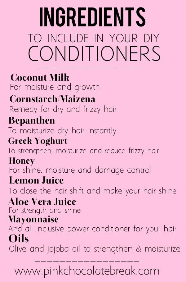 diy conditioner - Google Search