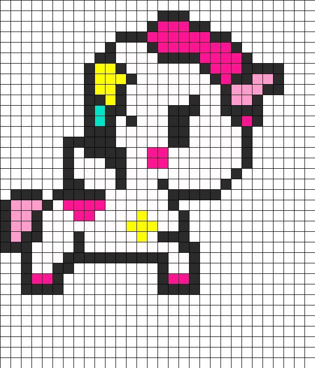 Tokidoki Unicorno Stellina bead pattern