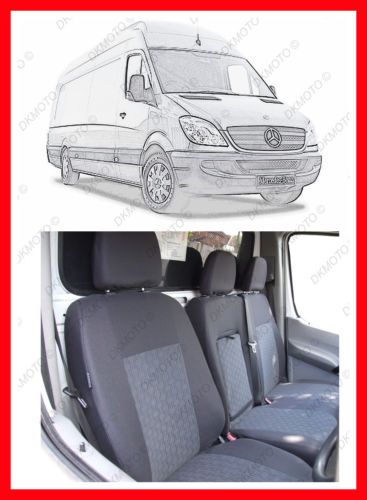 Tailored VAN Seat Covers For MERCEDES SPRINTER 2015 W906