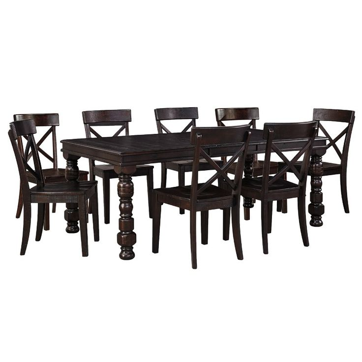 Rustique 9 Piece Dining Set   Weekends Only Furniture and Mattress289 best Kitchen   Dining Room images on Pinterest   Black and  . Outdoor Dining Chairs Only. Home Design Ideas