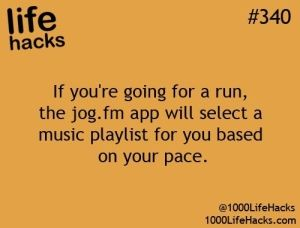 I need to try this! Im always skipping through my playlist find a song to match my rhythm!