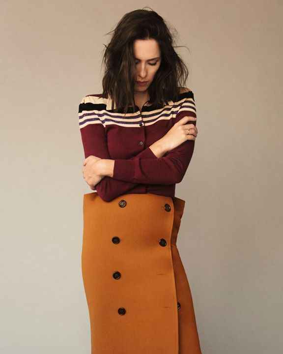 Rebecca Hall x Bottega Veneta for The Laterals   Photographed by Matthew Tyler Priestley / Styled by Noah Diaz / Hair by Charlie Taylor Hair & Beauty at Tracey Mattingly / Makeup by Itsuki at Bridge Artists   Read more: https://www.thelaterals.com/identities-film/rebecca-hall #amazing  #Unbelievable  #perfection  #great  #hardnottoshare  #crazygood