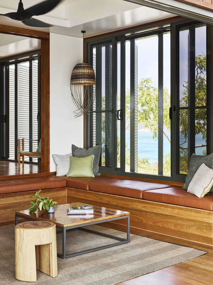 Wilson's Cottage - Lizard Island - Lounge Room - TWOFOLD STUDIO with James Davidson Architect