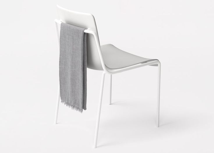 Nendo followed up its one-year retrospective in Milan with this stacking chair.