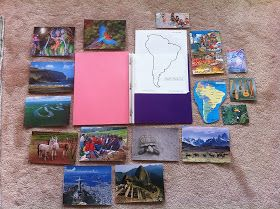 As part of our study of the continents (which includes our globe seen here and our continent puzzle seen here ), I created photo folders. ...