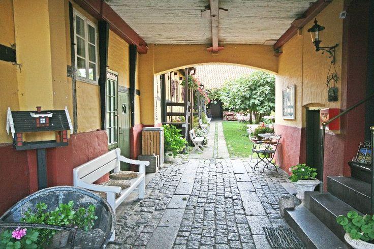 Klostergården. Allinge, Bornholm.