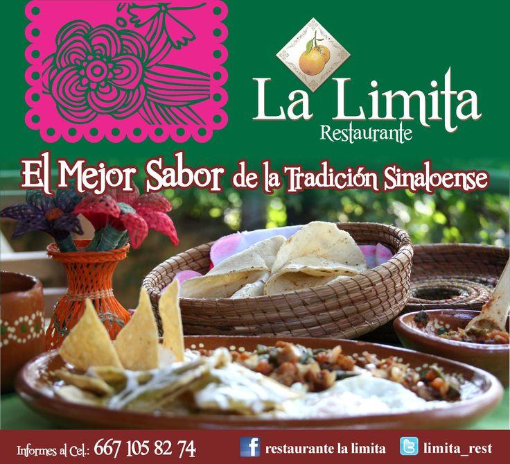 Le esperamos mañana en La Limita Restaurante con nuestros deliciosos platillos con toda la tradición sinaloense!! #LaLimitaRestaurante