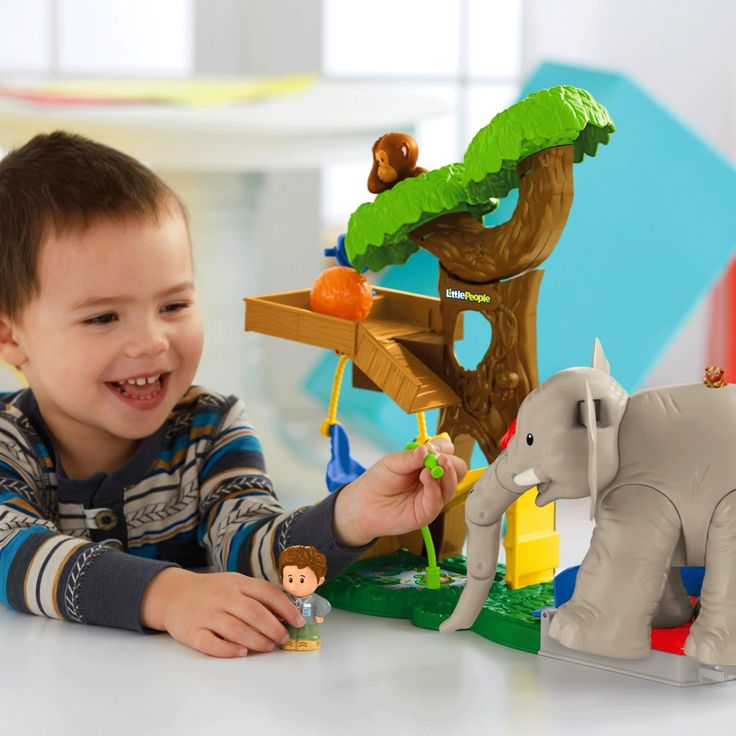 Little People® Big Animal Zoo - Shop Little People Toddler Toys   Fisher-Price