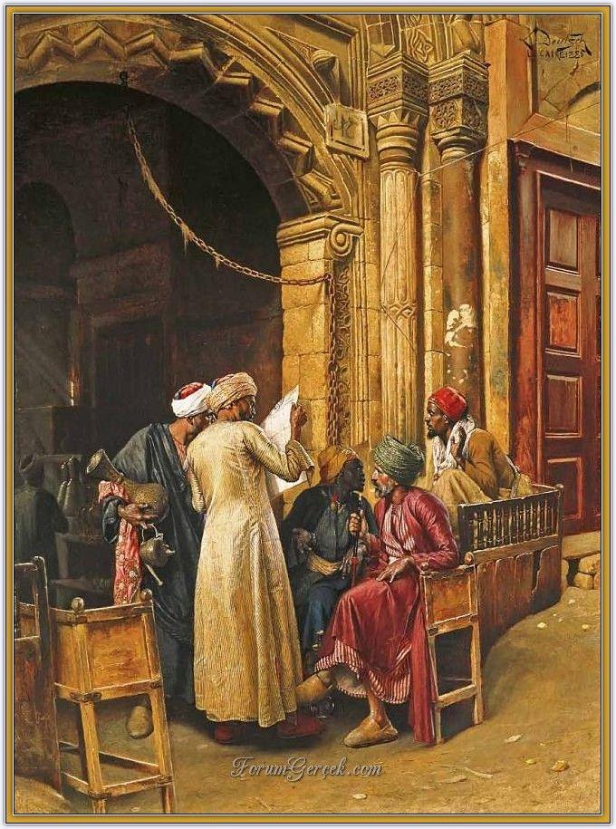 Ludwig Deutsch (1855 - 1935) | Avusturyalı Oryantalist Ressam - Sayfa 2 - Forum Gerçek