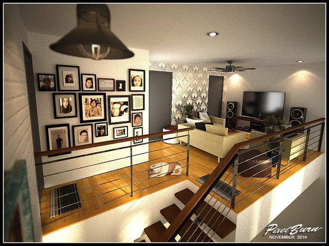 This Modern Style Dream House Design Is Designed In Two Storey For A Small Family 3 5 People With A Beauti House Design Interior Architecture Design Home Decor