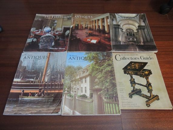 The Magazine  Antiques and The Antique by PurveyorsOfFineJunk