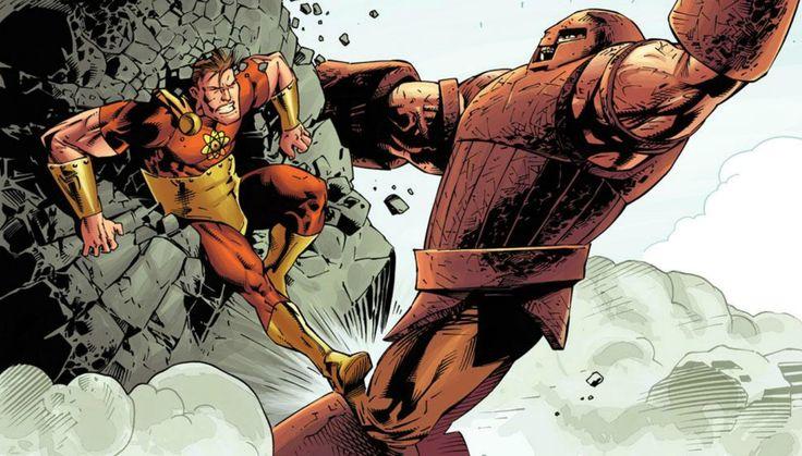 Juggernaut vs  Hyperion by Kev WalkerHyperion Vs Juggernaut