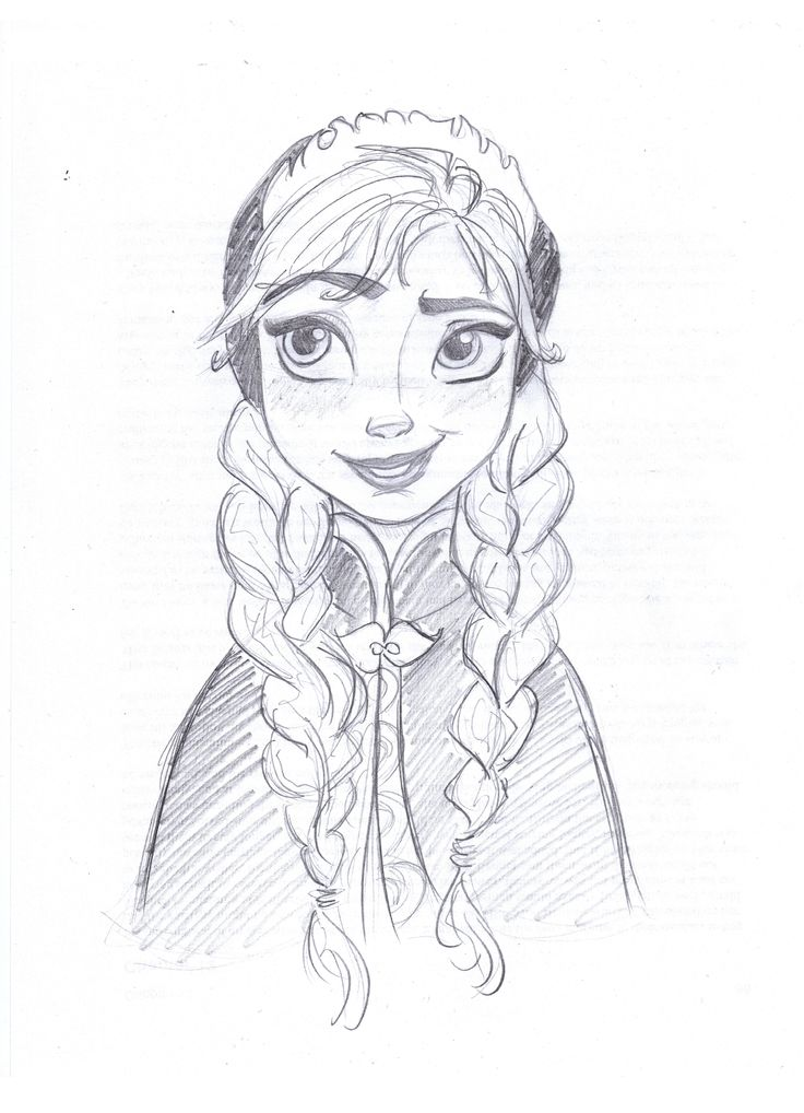 esa sketches frozen anna and sisters - photo #24