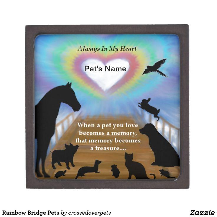 Rainbow Bridge Pets Premium Jewelry Boxes