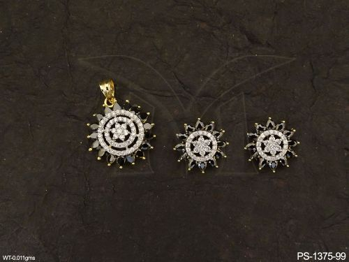 AD-Pendant-PS-1375Bk-99-KKSunflower Style AD Pendant Set