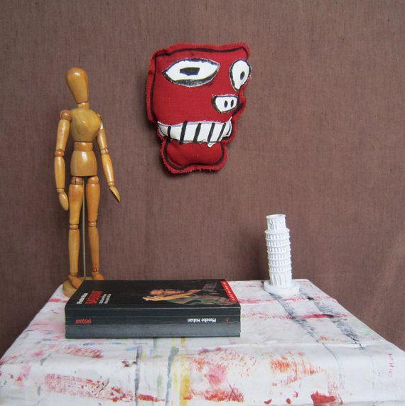 Basquiat pop art graffiti arte scultura regalo New York arte maschera regalo compleanno uomo donna laurea pezzo unico decorazione casa 3buu