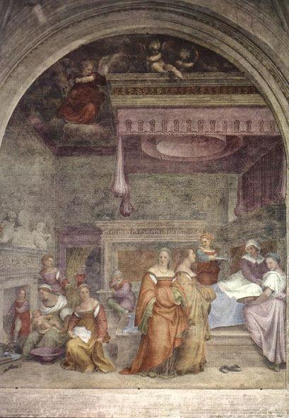 La Natività della Vergine (1514; Firenze, Santissima Annunziata)