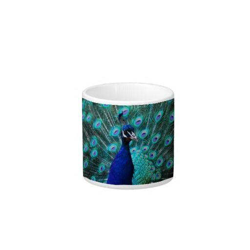 Pretty Peacock Specialty Mug