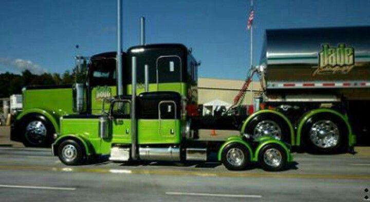 Peterbilt Pickup Big Rig Hot Rods Trucks Pickup trucks Mini