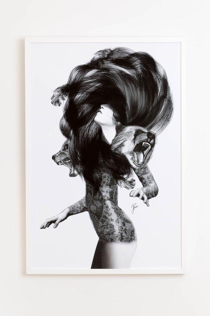 Jenny Liz Rome art print - Bear #3 (various sizes) - norsu interiors - 1