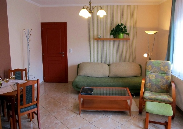 Appartement Nr.2.- Wohnzimmer