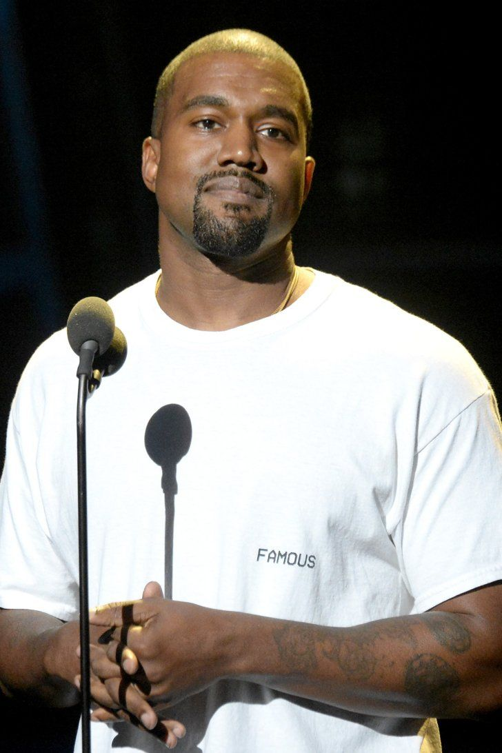 Kanye West Resurfaces With Platinum Hair to Match His Discography