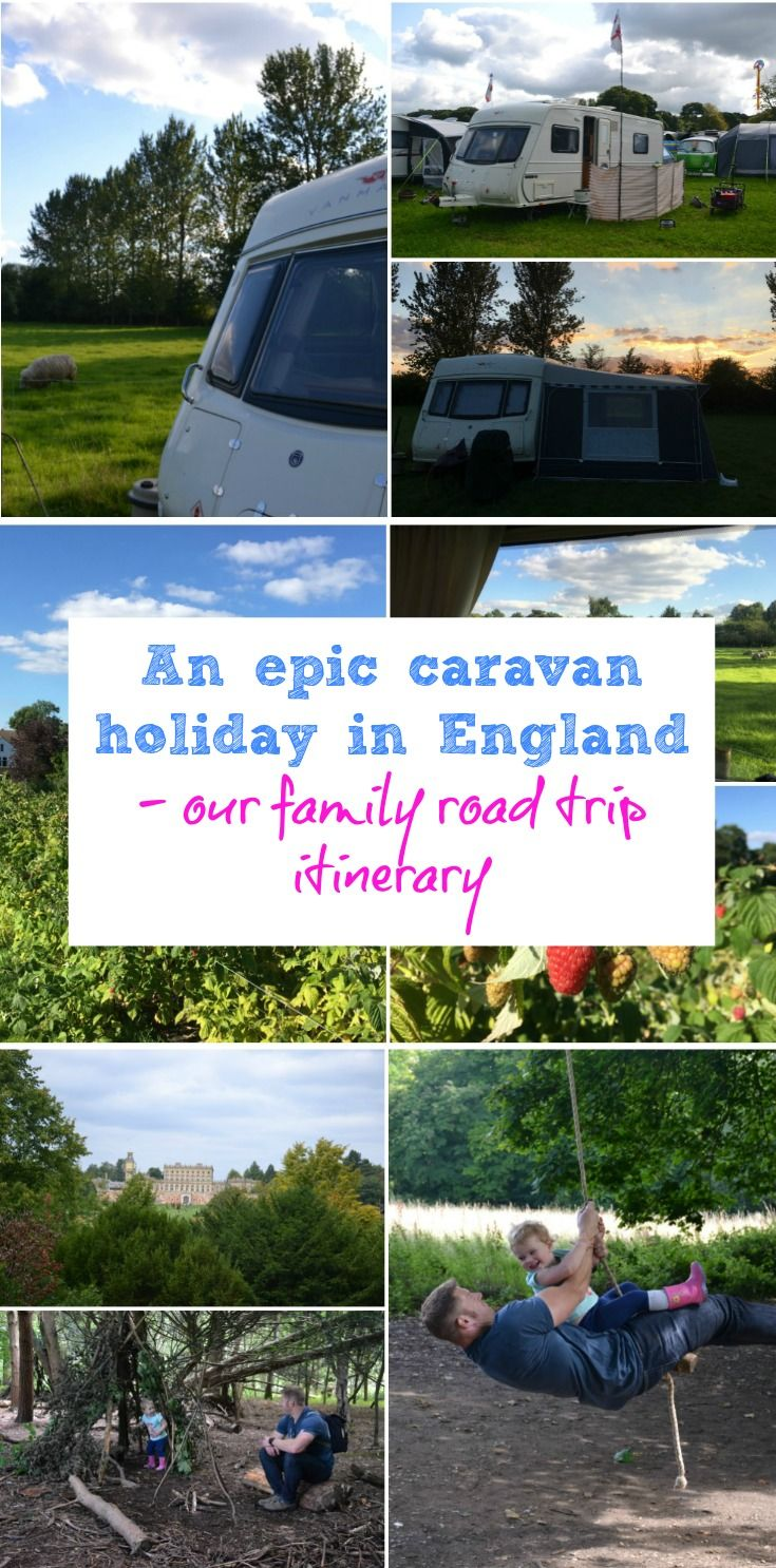 The full itinerary of our caravan holiday in England which covered 850 miles, stops in four countries and numerous family attractions