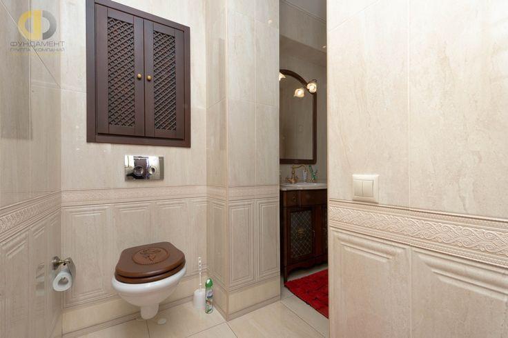 Ремонт ванной в неоклассическом стиле
