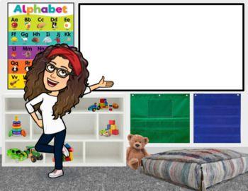bitmoji classroom backgrounds google banner teacher grade elementary tpt teacherspayteachers class virtual