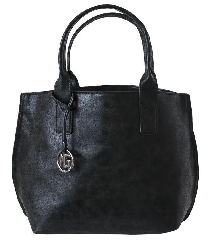 Dámská kabelka Marina Galanti, stříbrná pečeť - černá barva   obujsi.cz - dámská, pánská, dětská obuv a boty online, kabelky, módní doplňky