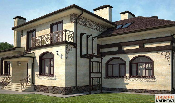 Индивидуальный дизайн фасада независимый от производства