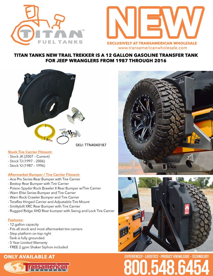 New Titan Trail Trekker Exclusively at Transamerican Wholesale – TAW ALL ACCESS