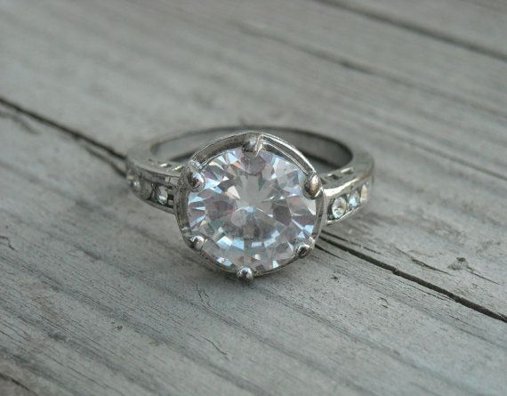 Vintage Diamond Ring by Ink & Roses 13