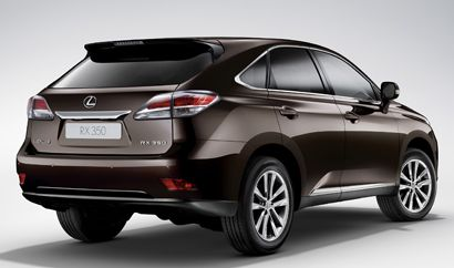 Lexus RX 350  SUV    Price: $39,310  Maximum Cargo Room: 80.3 cu. ft.  EPA Fuel Mileage: 18 city/25 highway