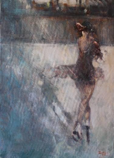 """Saatchi Art Artist simone Butturini; Painting, """"Katarina Witt"""" #art"""