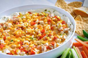 Southwestern Creamy Jalapeño-Chicken Dip Recipe -